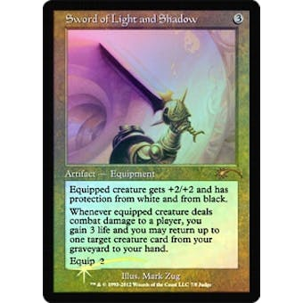 Magic the Gathering Promo Single Sword of Light and Shadow (Judge) - NEAR MINT (NM)