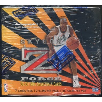 1996/97 Skybox Z-Force Series 1 Basketball Retail Box