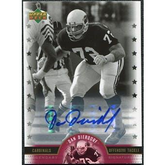 2005 Upper Deck Legends Legendary Signatures #DD Dan Dierdorf Autograph