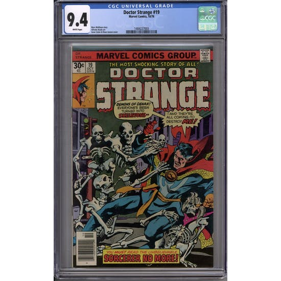 Doctor Strange #19 CGC 9.4 (W) *1484227003*