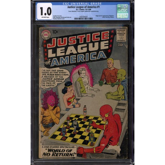Justice League of America #1 CGC 1.0 (OW) *1487694001*
