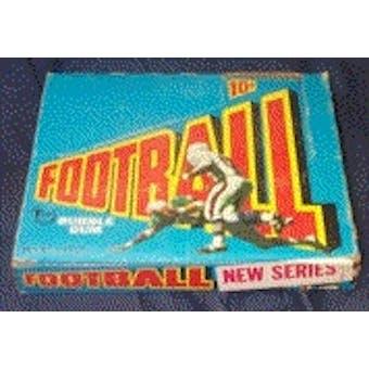 1972 Topps Football 3rd Series Wax Box