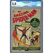 Amazing Spider-Man #1 CGC 5.0 (OW-W) *1488054003*