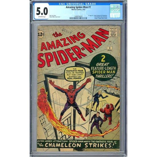 Amazing Spider-Man #1 CGC 5.0 (OW-W) *1488054003*