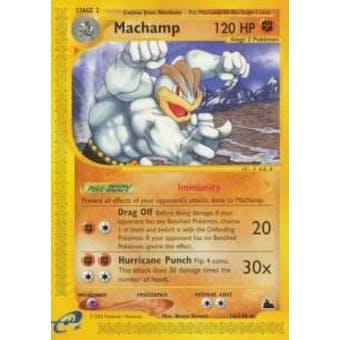 Pokemon Skyridge Single Machamp H15/H32 - MODERATE PLAY (MP)