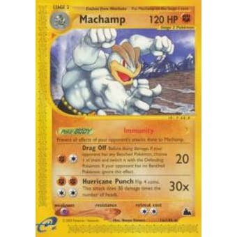 Pokemon Skyridge Single Machamp H15/H32 - MODERATE PLAY (MP)