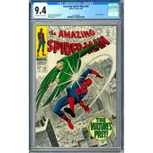 Amazing Spider-Man #64 CGC 9.4 (OW-W) *1493700005*