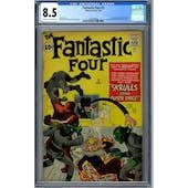Fantastic Four #2 CGC 8.5 (C-OW) *1493904020*