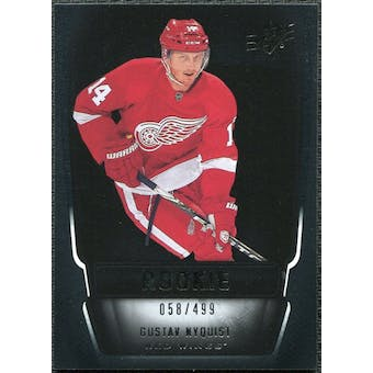 2011/12 Upper Deck SPx #141 Gustav Nyquist RC /499