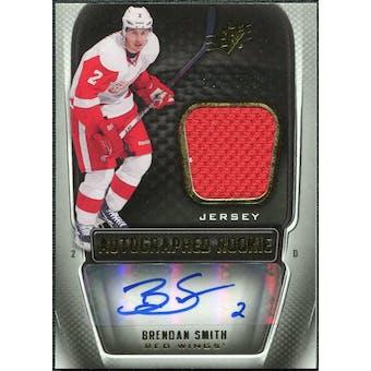 2011/12 Upper Deck SPx #197 Brendan Smith RC Jersey Autograph /799
