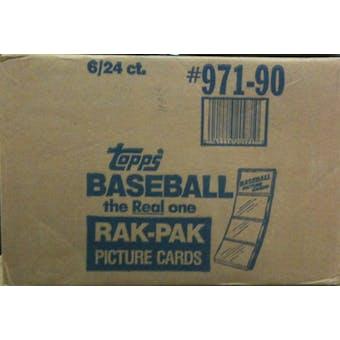 1990 Topps Baseball Rack 6-Box Case