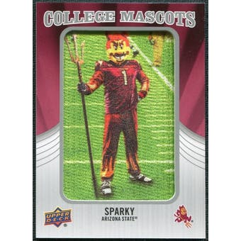 2012 Upper Deck College Mascot Manufactured Patch #CM2 Sparky B