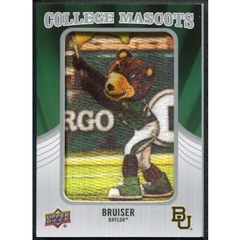 2012 Upper Deck College Mascot Manufactured Patch #CM8 Bruiser B