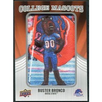 2012 Upper Deck College Mascot Manufactured Patch #CM9 Buster Bronco B