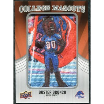 2012 Upper Deck College Mascot Manufactured Patch #CM9 Buster Bronco B