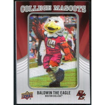 2012 Upper Deck College Mascot Manufactured Patch #CM10 Baldwin the Eagle B
