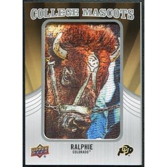 2012 Upper Deck College Mascot Manufactured Patch #CM14 Ralphie B