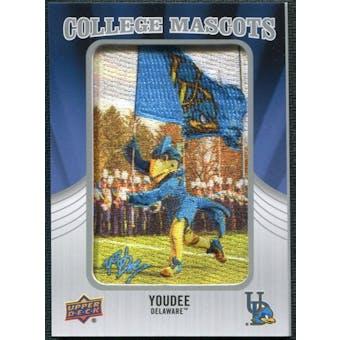 2012 Upper Deck College Mascot Manufactured Patch #CM15 YoUDee C