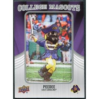 2012 Upper Deck College Mascot Manufactured Patch #CM16 PeeDee B