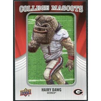 2012 Upper Deck College Mascot Manufactured Patch #CM19 Hairy Dawg A