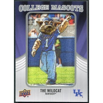 2012 Upper Deck College Mascot Manufactured Patch #CM22 The Wildcat B