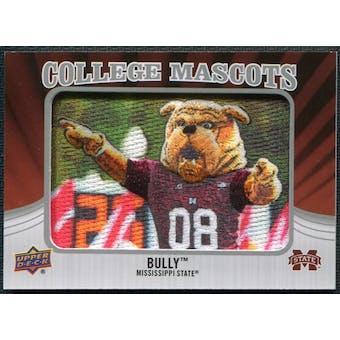 2012 Upper Deck College Mascot Manufactured Patch #CM28 Bully A