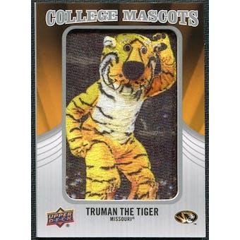 2012 Upper Deck College Mascot Manufactured Patch #CM29 Truman the Tiger A