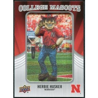 2012 Upper Deck College Mascot Manufactured Patch #CM31 Herbie Husker A