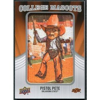 2012 Upper Deck College Mascot Manufactured Patch #CM37 Pistol Pete A