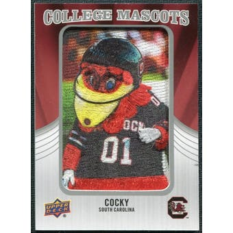 2012 Upper Deck College Mascot Manufactured Patch #CM43 Cocky B
