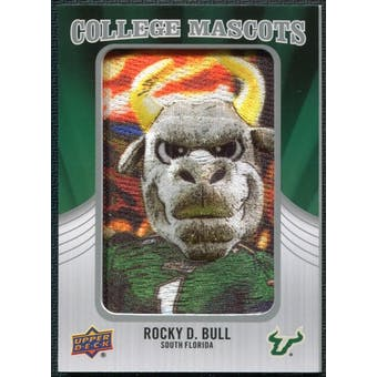 2012 Upper Deck College Mascot Manufactured Patch #CM44 Rocky D. Bull B