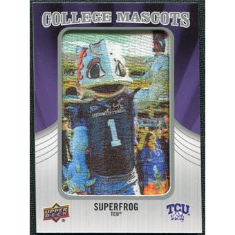 2012 Upper Deck College Mascot Manufactured Patch #CM45 Super Frog B