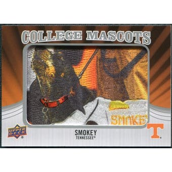 2012 Upper Deck College Mascot Manufactured Patch #CM46 Smokey A