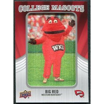 2012 Upper Deck College Mascot Manufactured Patch #CM58 Big Red A