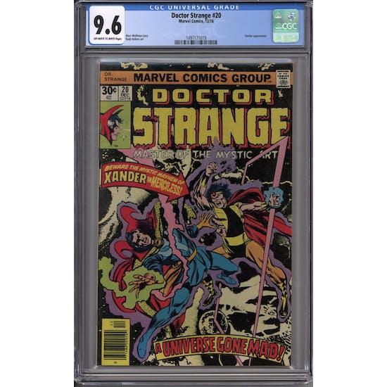 Doctor Strange #20 CGC 9.6 (OW-W) *1497171019*