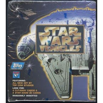 Star Wars Vehicles Box (1997 Topps)