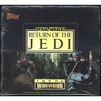 Star Wars Return of the Jedi Hobby Box (1995 Topps)