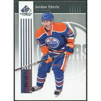 2011/12 Upper Deck SP Game Used Silver Spectrum #35 Jordan Eberle /10