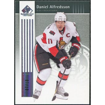 2011/12 Upper Deck SP Game Used Silver Spectrum #68 Daniel Alfredsson /10