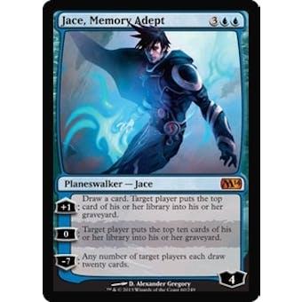 Magic the Gathering 2014 Single Jace, Memory Adept Foil