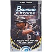 2014 Bowman Chrome Baseball Hobby Box