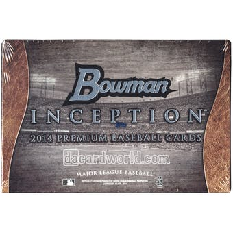 2014 Bowman Inception Baseball Hobby Box