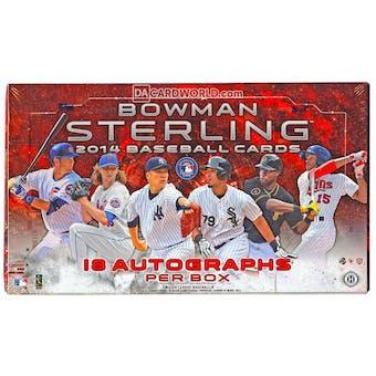 2014 Bowman Sterling Baseball Hobby Box