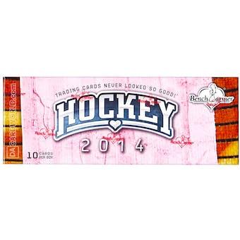 BenchWarmer Premier Edition Hockey Hobby Box (2014)