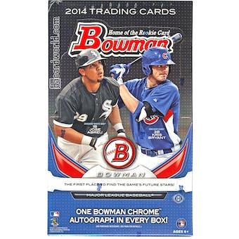 2014 Bowman Baseball Hobby Box