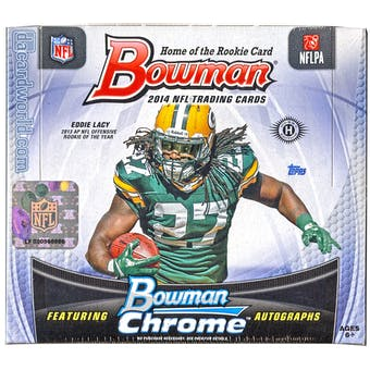 2014 Bowman Football Hobby Box