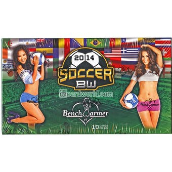 2014 BenchWarmer Soccer Hobby Box