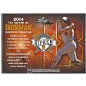 2014 Leaf Cal Ripken Ironman Signature Collection Baseball Hobby Box