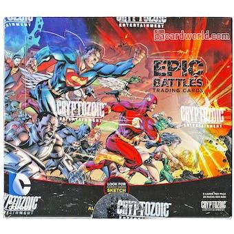 DC Comics Epic Battles Trading Cards Box (Cryptozoic 2014)