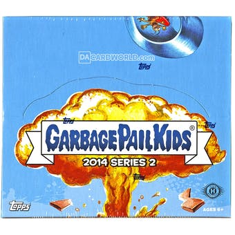 Garbage Pail Kids Brand New Series 2 Hobby Box (Topps 2014)